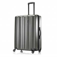 Tripp Pewter 'Retro II' Large 4 Wheel Suitcase