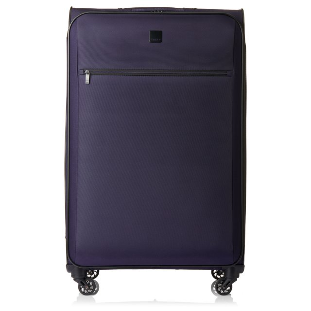 Full Circle Large 4 wheel Suitcase 83cm GRAPE