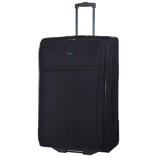 Tripp Glide Lite III 2-Wheel Large Suitcase Black - Soft Suitcases ...