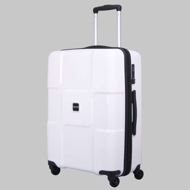 Tripp World 4 wheel Large Suitcase White II - Hard Suitcases ...