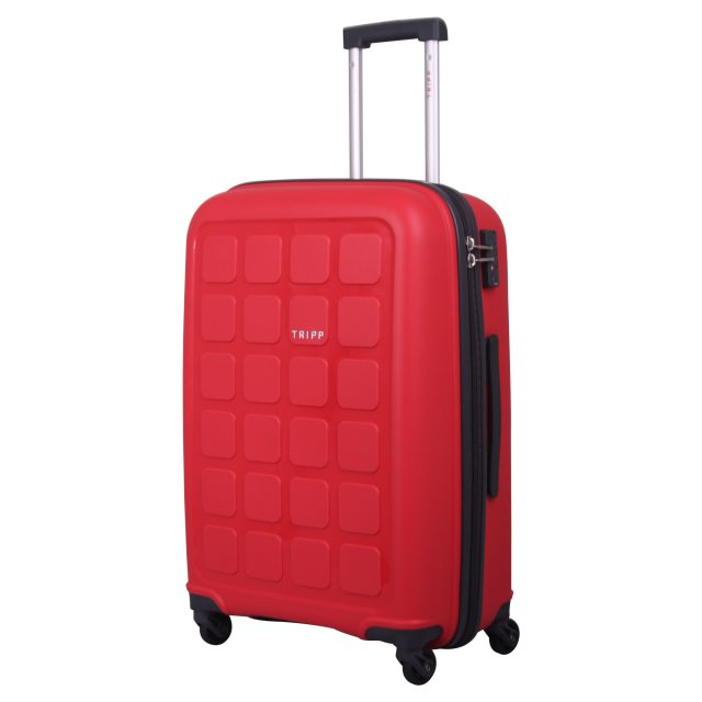 Holiday 6 Medium 4 wheel Suitcase 65cm POPPY