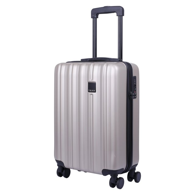Tripp Champagne  Retro  Cabin 4 Wheel Suitcase - Hard Suitcases ... 6989e10b87485