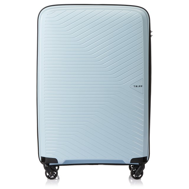 Chic Medium 4 wheel Suitcase 67cm ICE BLUE