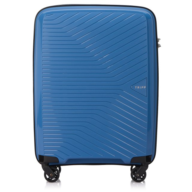 Chic Cabin 4 wheel Suitcase 55cm SKY BLUE