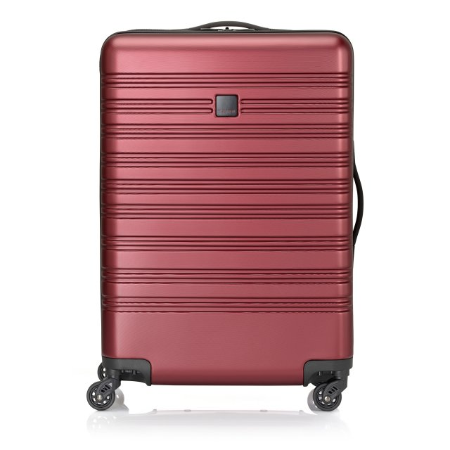 Horizon Medium 4 wheel Suitcase 67cm EMBOSS RUBY